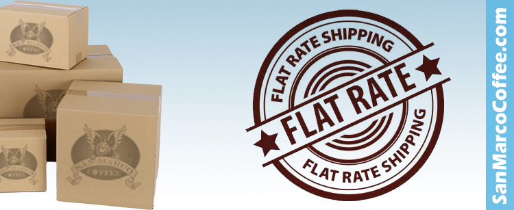 Flat Rate Shipping Offer
